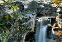 WATER FALLS / by JUDITH FISHBACK
