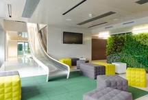 Interiors - Commercial  / #commercial #architecture #interiors / by Romona Sandon Designs