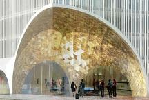 Architecture - Commercial + Public / #architecture #commercial #public #industrial #education  / by Romona Sandon Designs