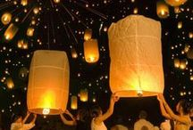 """Lanterns / """"Faith means living with uncertainty - feeling your way through life, letting your heart guide you like a lantern in the dark.""""  ~Dan Millman"""