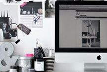 Craft Room Inspiration / These photos inspire me to create an organized craft room. / by Pat Bravo
