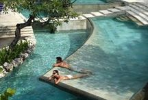 ★ Poolside Luxury ★ / I'm dreaming of a holiday in anyone of these luxury hotels....