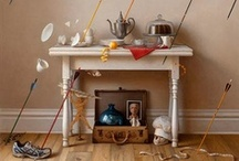 Styling + Vignettes / Styling, Vignettes, Home Decor Products and Interiors / by Romona Sandon Designs
