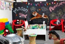 ★ Playroom Inspiration ★ / A collection of some of the coolest playrooms i have ever seen
