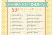 Photography~ Lists/Ideas / Inspiration and Photo Challenges