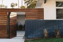 Gate Fence Boundary ||=|]|[|=|| / Gates Fences Property Boundaries and Screening / by Romona Sandon Designs