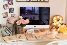 Girly Office / Sunroom / by Sarah Mackey