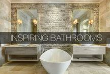 Inspiring Bathrooms / Here's some inspiration for your next bathroom renovation or just vacation here! View other bathroom shots here: