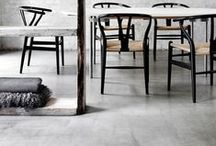 Floor / #Floor surfaces - polished concrete, timber, tiles, carpets, rugs, painted patterns and floor finishes. / by Romona Sandon Designs