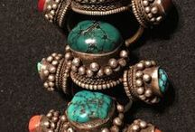 T I B E T - T R I B A L - A D O R N / Jewellery styles, amulets and embellishments from Tibet