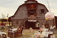 Gettin' Hitched / Lots of country glam wedding ideas. Good thing I haven't tied the knot yet. / by Adrienne @ Midwestern Belle