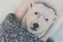 Tattoo / I want a polar bear tattoo on my left arm.