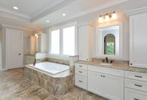 Luxurious Spa Bath Designs / Opulent owner's spa baths are the hallmark of a John Wieland home. Our team of dedicated designers help all of our new homeowners select the details that make them one of a kind.