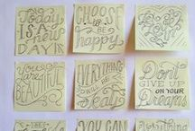 TYPE // Beautiful fonts / Pretty and creative fonts.