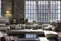 | disegno industriale | / My Passions defined... Industrial reinvented. Renovate a warehouse to living space.... / by Laura Leonetti