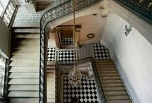 INTERIORS // Stairways and staircases / Creative and unusual staircases.  Interior and Exterior