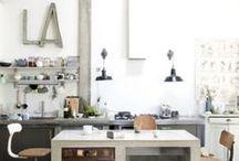 S P A C E S // Kitchens