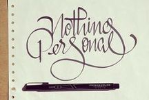 ✎ LETTERING ✎