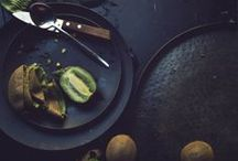 """""""Dark"""" Food Photography / I'm going to practice """"dark"""" food photography- it seems to be all the rage."""