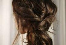hannah's wedding // hair + makeup