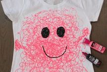 T-shirts // Cool T-Shirt Designs // Wearable Crafts / Cool and Creative Ideas for T-shirts and shirts