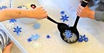 Christmas Sensory Games / Games and activities for motor skills and sensory awareness