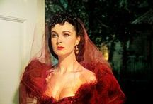 Colour ~ Scarlett O'hara / Shades of RED....my favourite colour!