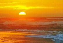 Colour ~ Sunset / The many shades of Orange