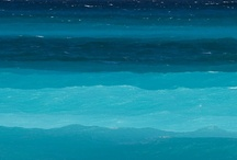 Colour-Mediterranean Seas / Shades of Blue / by The Inspired Nester