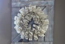Barnwood ideas / by Tiffany Baird
