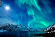 Aurora Borealis and Aurora Australis / I've only seen them in North Dakota when I lived there - the aurora borealis - I'd love to see the vivid ones someday far up north! Then I found out about the aurora australis - another great reason to go Down Under! / by Joan Redd