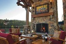 Outdoor ideas for home / by Swade