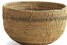 Baskets as Art / Ethnic and art baskets  / by Joan Redd