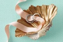 Wedding Ring Pillow Ideas / Creative ideas for wedding ring boxes and pillows your little ring bearer can carry down the aisle.