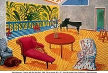 Art-David Hockney / David Hockney's works / by Joan Redd