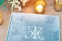 Wedding Guest Book Ideas / Keep track of the loved ones attending your wedding reception with a keepsake you'll treasure for years to come. / by Martha Stewart Weddings