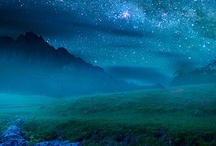 Star Dust ⋆⋆⋆⋆ / Twilight drops her curtain down, and pins it with a star. ~Lucy Maud Montgomery