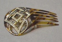 Accessories-Hair Combs, Pins,& Hat Pins / Items for the hair - decorative and practical  / by Joan Redd
