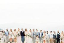 Wedding Party Photo Ideas / All the inspiration you could want for the people that are closest to you on your big day.
