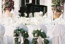 Wedding Reception / Inspiration for planning the perfect wedding party for you and your guests!