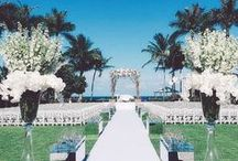 Wedding Ceremony Set up ❤ / Amazing and wonderful venues inspirations for your wedding. Coco White Dreams