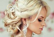 """Bridal Hair ❤ / To be the prettiest bride of the universe, one must take good care of her """"Rapunzel hair""""... :)"""