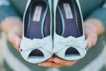 """Bridal Shoes ❤ / """"To be the """"comfy and pretty"""" Cinderella, not the one who lost her shoe anymore. (because your lost shoe has been given back to you by your Prince already.)"""" ;)  Advice: Find the right ones. They must suit you, be beautiful and comfortable. :) C.C.F."""