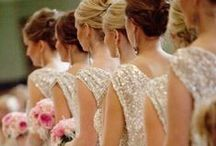 Your Bridesmaids ❤ / Dresses and hairstyles for your Bridesmaids. :) C.C.F
