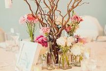 Table Centerpieces ❤ / Wonderful Centerpieces with flowers & candles inspiration. Coco White Dreams