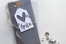 On Trend - Grey / A little inspiration for adding a little or a lot of grey to your paper projects.