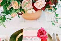 Wedding Tables & Decor / Covering a range of themes, styles, and seasons, these table-setting ideas are sure to set the mood at your reception.