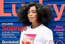 COVER GIRLS OF COLOR / This board celebrates magazine covers that feature women of African descent.