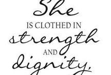 femininity / beautiful womanhood, genuine femininity