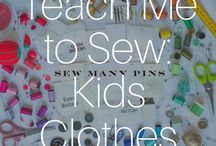 Teach Me To Sew: Kids Clothes